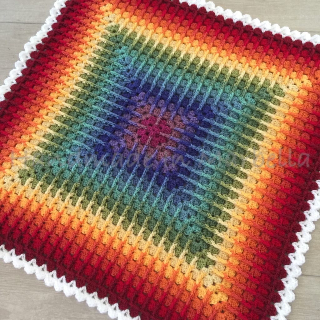 Front Post Granny Square Tutorial Or Trebling Granny